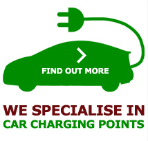 We specialise in car charging points