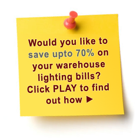 Would you like to have up to 70% on your warehouse lighting bills?